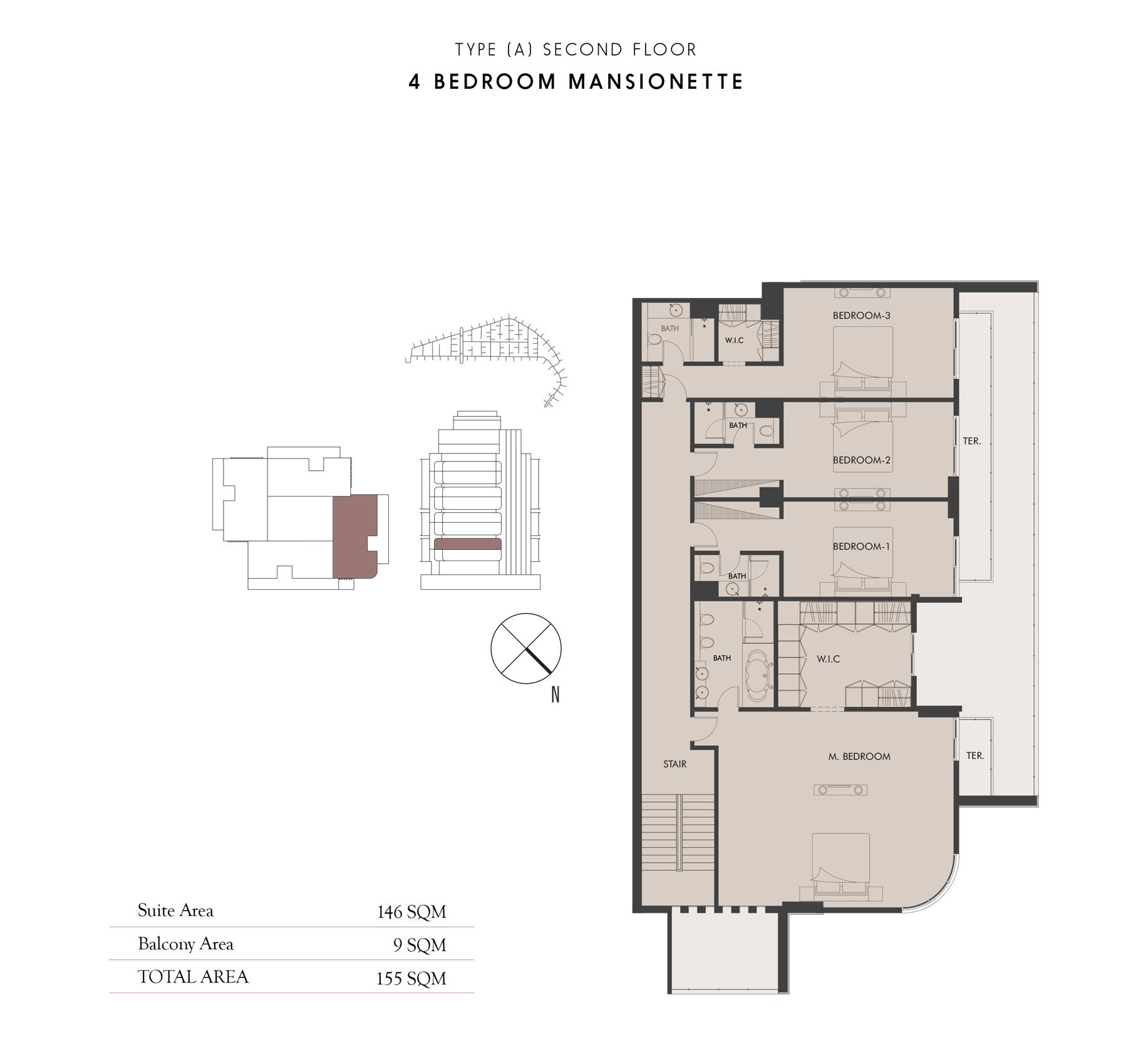 4 Bedroom Maisonette - First Floor