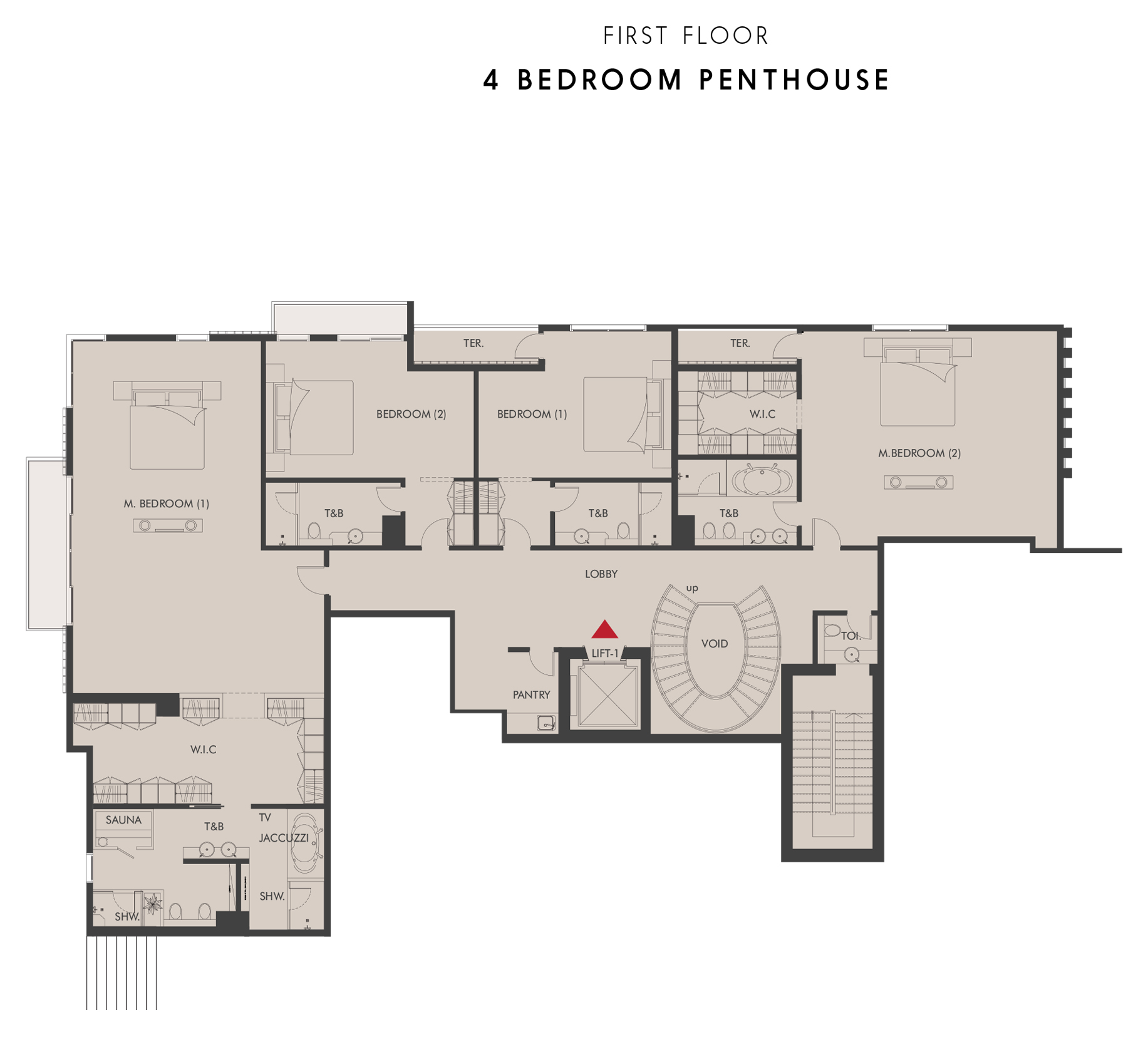 Penthouse - First Floor