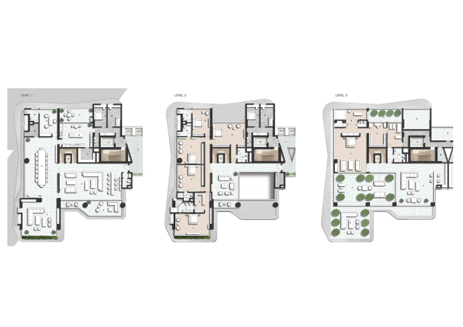 Triplex Pent House
